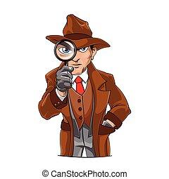 detektyw, rysunek