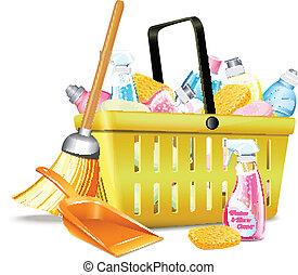 detergent2, panier