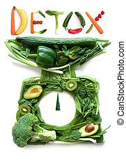 detox, balances cuisine, concept