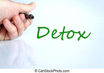 detox, concept
