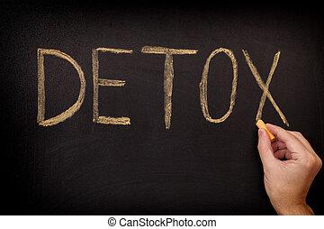 detox., concept, image.