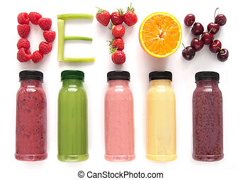 Detox juice smoothies