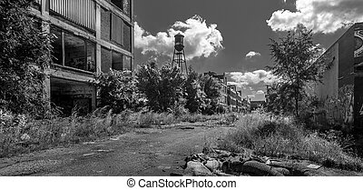 Detroit Abandoned Building