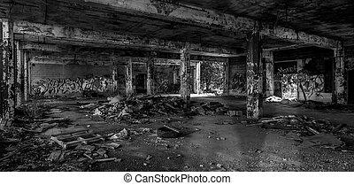 Detroit Abandoned Building - Abandoned Building