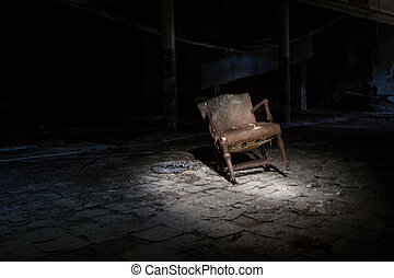 Detroit Abandoned School - Abandoned Building