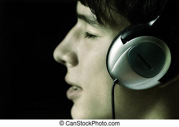 detta, musik, kärlek