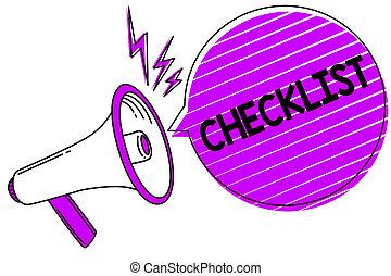 dettagliato, bubble., foto, idea, giù, qualcosa, altoparlante, scrittura, discorso, concettuale, megafono, grunge, affari, esposizione, mano, checklist., elenco, guida, attività, showcasing, grido, discorso