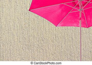 dettaglio, struttura, fondo, foderare, spiaggia, sabbioso