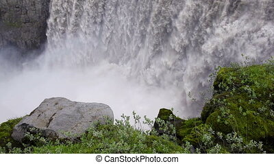 Dettifoss waterfall in Iceland - Dettifoss, the most...
