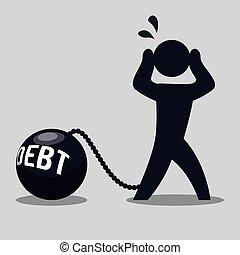 deuda, diseño