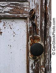 deur, armoedig