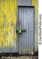 deur, verweerd