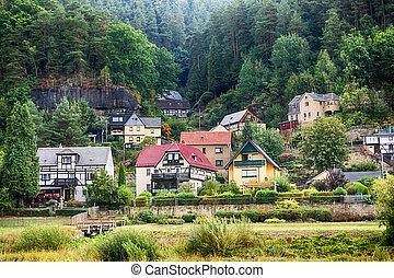 Deutsche small town
