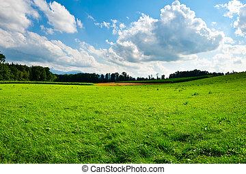 deutschland, landschaftsbild