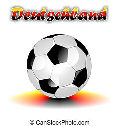 DEUTSCHLAND soccer ball