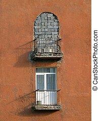 deux, balcons