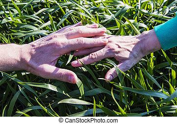 deux mains