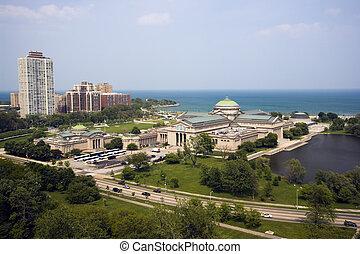 devant, lac, chicago