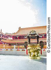 devant, temple