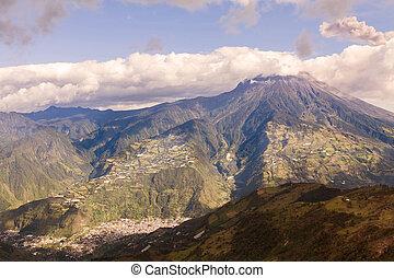 devastating, felrobbanás, tungurahua, vulkán