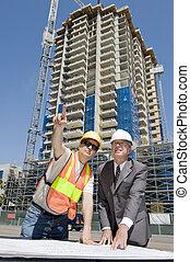 Developer & Foreman - Building developer supervising...