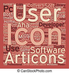 Developers Icon Toolkit text background wordcloud concept