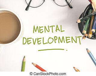 development., γενική ιδέα , διανοητικός , λόγια , τυπογραφία