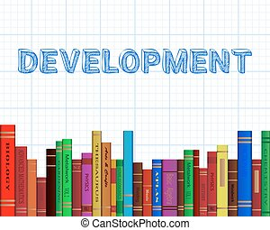 Development Books Graph Paper - Development word on graph...