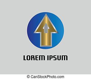 Development symbol with Arrow