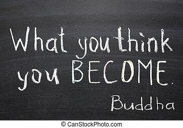 devenir, vous, penser