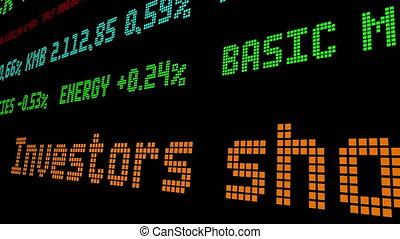 devez, symbole actions, investisseurs, certain, stocks, vendre
