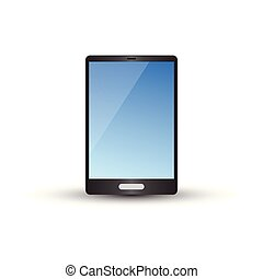 Device mockup graphic template vector