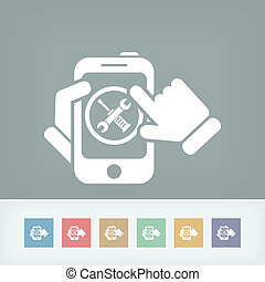 Device setting icon