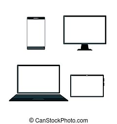 devices electronics technology icons