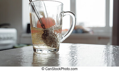 devices for brewing tea