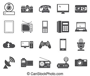 Devices icons.