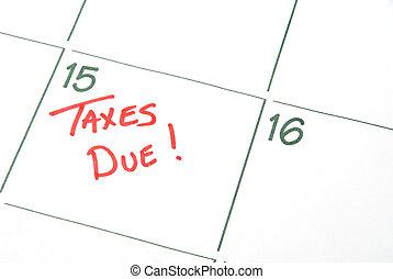 devido, impostos