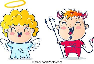 devil., ängel