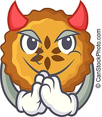 Devil apple pie on the character board