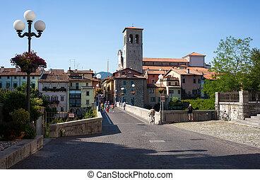 Devil bridge, Cividale del Friuli - View of the Devil...