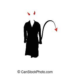 devil character illustration