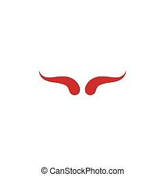 Devil horn