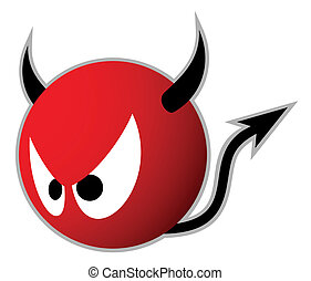 devil horns - Creative design of devil horns