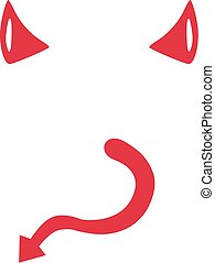 Pity, Devil tail clip art