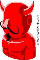 Devil Man Avatar People Icon