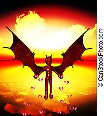 Devil Spreading The Heartbreak - The Devil spreading lots of...