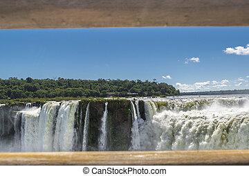 Devil Throat Iguazu Falls at Argentinian Border