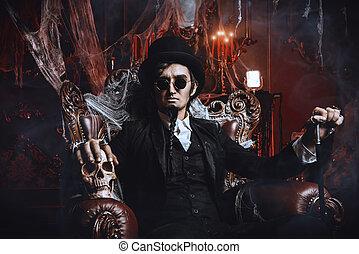 devilry vampire man