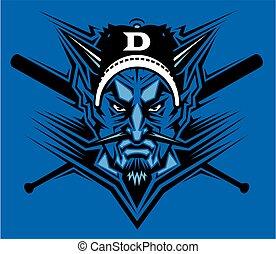 devils baseball mascot