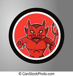 Devils Circle sticker